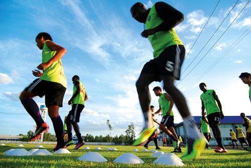 การฝึกกีฬา